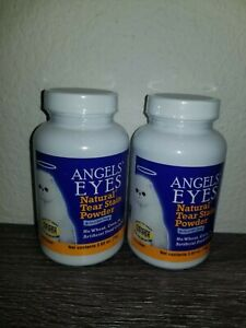 LOT OF 2 Angel's Eyes Natural Tear Stain Remover for Cats exp 6/2021