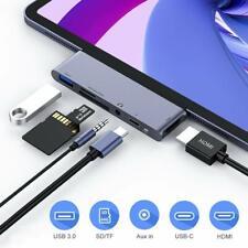 USB C Hub for iPad Pro 2018,Type C Hub Adapter with 4K HDMI Output,USB C PD Port