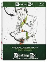 Breaking Bad - Stagione 3 - Limited Edition SteelBook - Cof. 3 Blu Ray - Nuovo