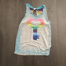 flowers by zoe Girls Tank Top Size L