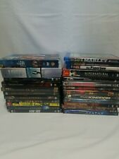 Mixed Genre Dvd Blu ray Lot - Action Sci-fi Thriller Horror Fantasy Tv Series