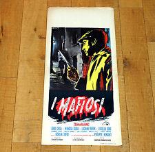 I MAFIOSI locandina poster affiche Gisella Sofio Boni Mafia Sicilia Sicily i23