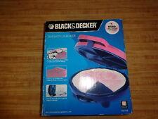 Black & Decker QUESADILLA MAKER Non Stick Deep Dish Pockets NEW in Box NIB