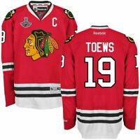 Chicago Blackhawks #19 Jonathan Toews Jersey W/2015 Championship Patch