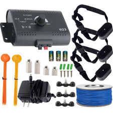 Waterproof Shock Collar Electric Dog Pet Fence System for 1/2/3 dogs Wireless