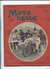 Moto Revue N°595  ; 4 aout 1934: la supersport 500 cmc F.N. type 86