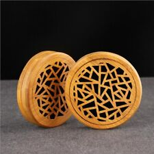 Bamboo Backflow Incense Burner Holder Smoke Back Incense Burner Furnitur 6L