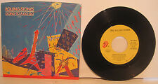 """Rolling Stones """"Going to a Go Go"""" + """"Beast of Burden"""" (both live) 45rpm w/PS NM"""