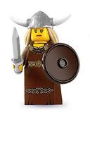 Lego Minifigure/Minifigure 8831 - Serie 7 - Viking Woman (New)