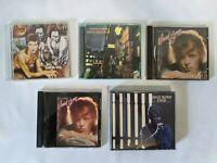 David Bowie 5 CD Lot  Ziggy Stage Diamond Dogs