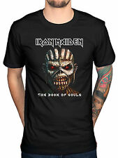 Official Iron Maiden Book Of Souls T-Shirt Piece Of Mind Killers Final Ed Hunter