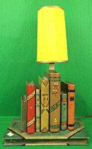 Fab (8) Faux Books Lamp