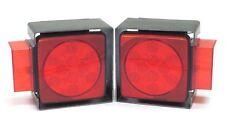 "SQ LED trailer tail/side light kit over 80"" w/ steel light boxes 24007/08/17/18"