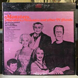 "1964 ""Monsters, Munsters, Mummies, Fiends"" LP • Milton DeLugg"
