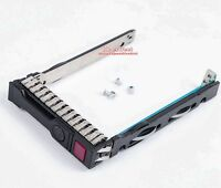 "2.5"" SAS SATA SSD Tray Caddy Sled For HP DL360e DL380e ML350p ML370 G9 Gen9 Gen8"