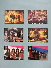 "KISS  CARDS          ""PROMOS  4  DIFF. /   PRO  SET  MUSIC  2  DIFF."""