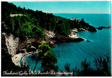 Cartolina Fiascherino Golfo de La Spezia La conca azzurra 1961 (ar204)