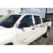 Fit for 2014-2017 GMC Sierra 1500/15-17 Sierra 2500/3500 Rain Guard Window Visor