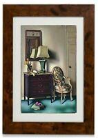 Hotel Room Framed Print By Tamara De Lempicka