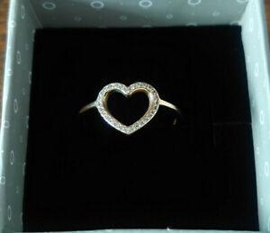 Pandora Ring Gold 585 (14K) 150179CZ Gr.58 NEU !