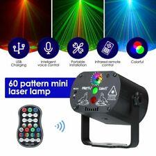 90 Muster RGB Laserlicht DJ Projektor LED Disco Beleuchtung für Home Party DE