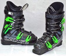 Lange RX J Used Junior Ski Boots Size 23.5 #76854