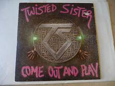 "TWISTED SISTER""COME OUT AND PLAY-disco 33 giri ATLANTIC Usa 1985-METAL"""