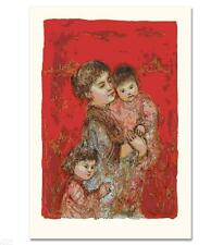 "Edna Hibel      ""Lorelei and Children""    MAKE  OFFER"