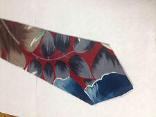 Mens Red Blue Brown Tie Necktie RETRO~ FREE US SHIP (11987)