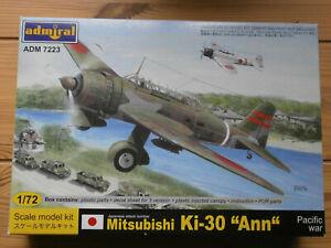 Mitsubishi KI 30 Ann 1/72 Admiral + mask