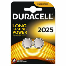 2 x Duracell CR2025 3V Lithium Coin Cell Battery DL2025