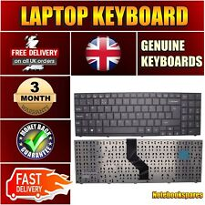 Replacement Keyboard For 90.4DN07.COU MD96640 MEDION AKOYA with UK Layout Black