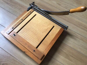 Vintage Dryad Leicester Guillotine BookBinding / Craft