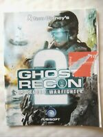 66054 Instruction Booklet - Ghost Recon Advanced Warfighter 2 - Sony PS3 Playsta