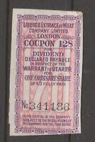 UK GB bond coupon? Stamp Fiscal Revenue 9-1-