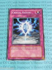 Crystal Raigeki FOTB-EN048 Common Yu-Gi-Oh Card Mint 1st Edition