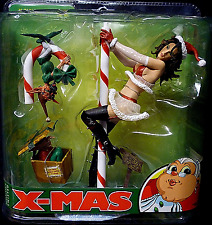 TWISTED X-MAS Sexy MRS SANTA CLAUS MCFARLANE ACTION FIGURE Rare 2007 Sealed