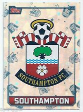 2015 / 2016 EPL Match Attax Base Card (217) SOUTHAMPTON FC Logo