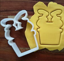 Santa in Chimney Cookie Cutter Biscuit Dough Pastry Christmas Santa Stuck  XM129