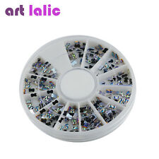 1 Wheel 3D Charm Bow knot Style Crystal Nail Art Glitter Cellphone Jewelry