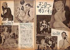 1955, Marilyn Monroe  Japan Vintage Clippings 2es11