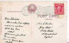 Genealogy Postcard - Family History - Burdon - Northumberland   Y930