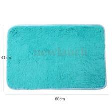 Paillassons, tapis de sol antidérapant bleus pour la maison
