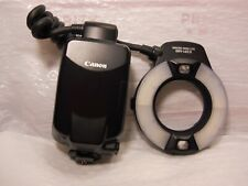 Canon Macro Ring Lite MR-14EX Flash Broken Repair Parts Only ** Hot shoe good **