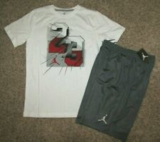 Air Jordan Boys Large Shirt Shorts Set