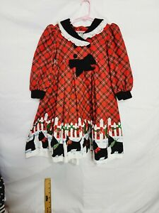 Beautiful Vintage Girl Dress Size 4t Daisy Kingdom