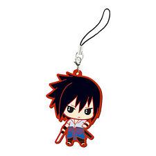 Naruto Shippuuden Sasuke Rubber Phone Strap NEW