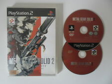 METAL GEAR SOLID 2 SONS OF LIBERTY - PLAYSTATION 2 - JEU PS2 + DVD