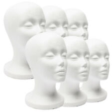 Female Styrofoam Mannequin Wig Glasses Hat Display Stand Popular Foam Head Model