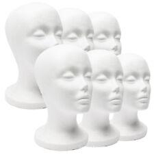 Female Styrofoam Mannequin Wig Glasses Hat Display Stand Popular Foam Head Model
